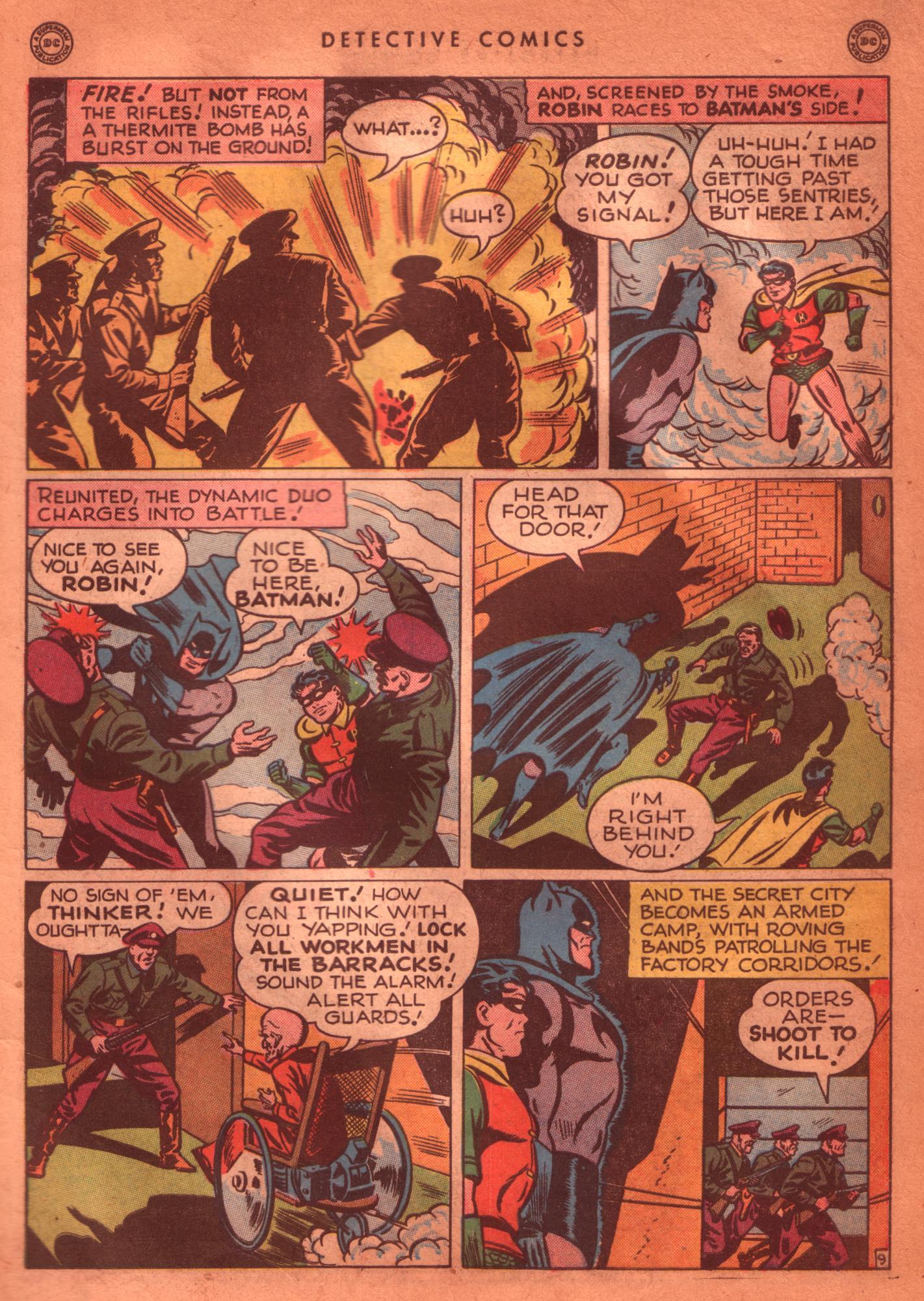 Read online Detective Comics (1937) comic -  Issue #125 - 11