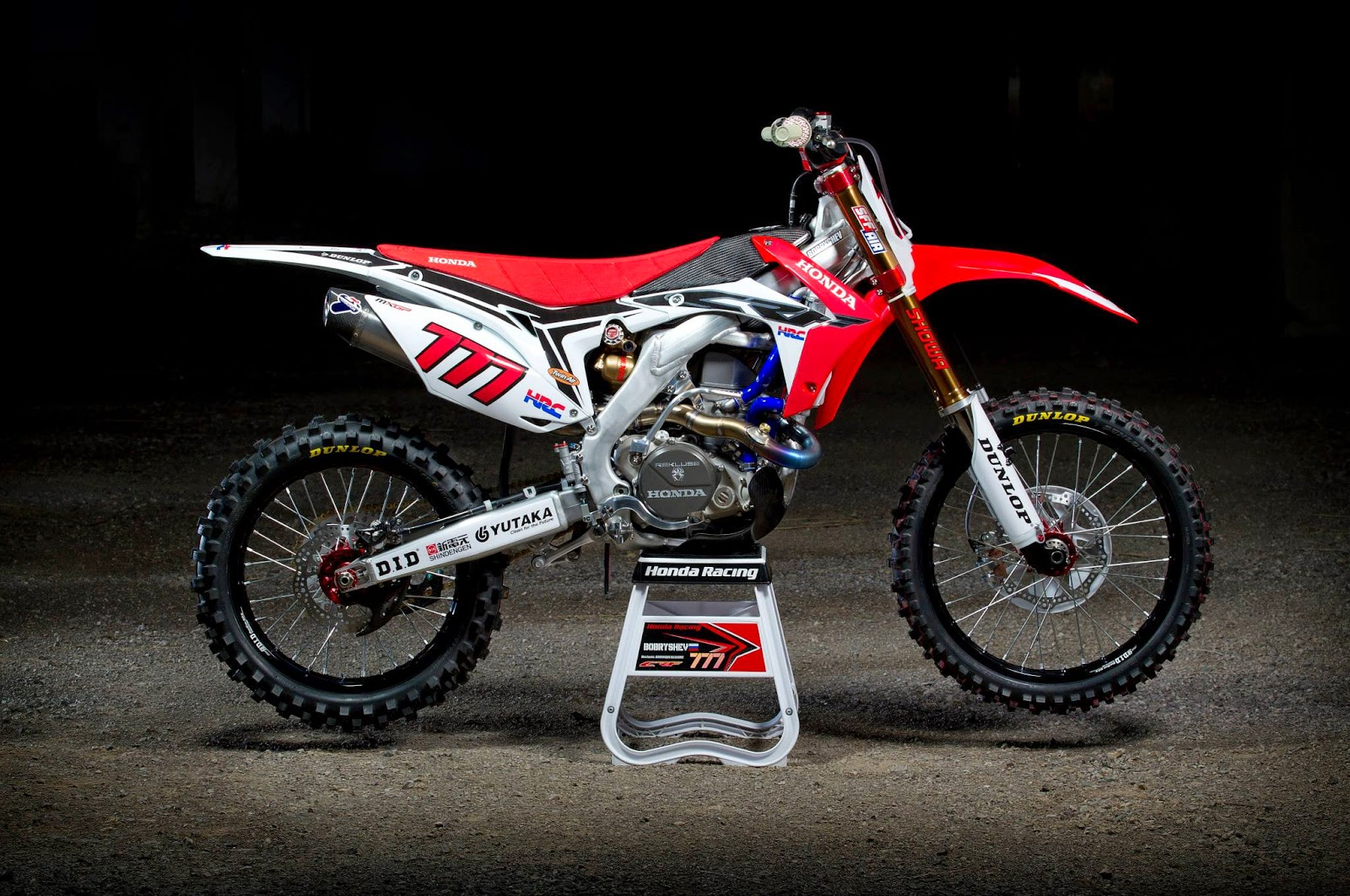 racing caf honda crf 450 rw team hrc 2014. Black Bedroom Furniture Sets. Home Design Ideas