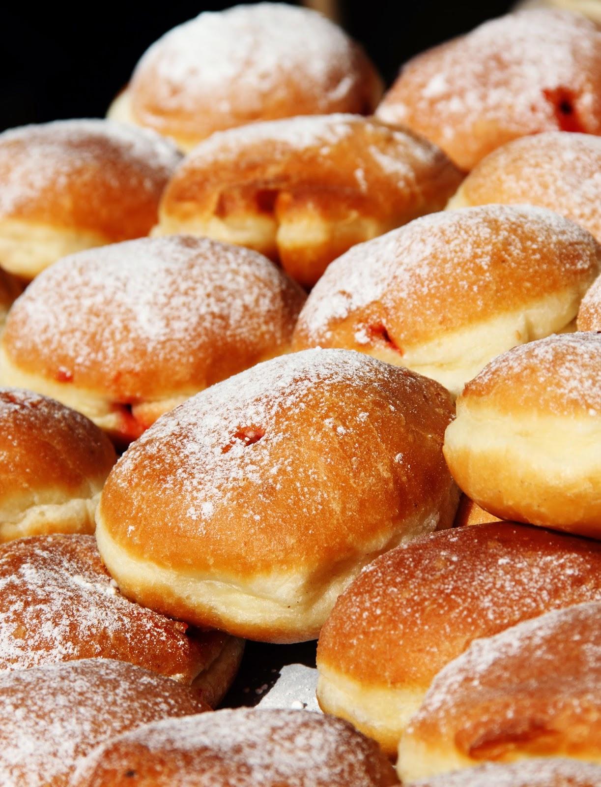 Chanukah Hanukkah jelly donut sufganiot