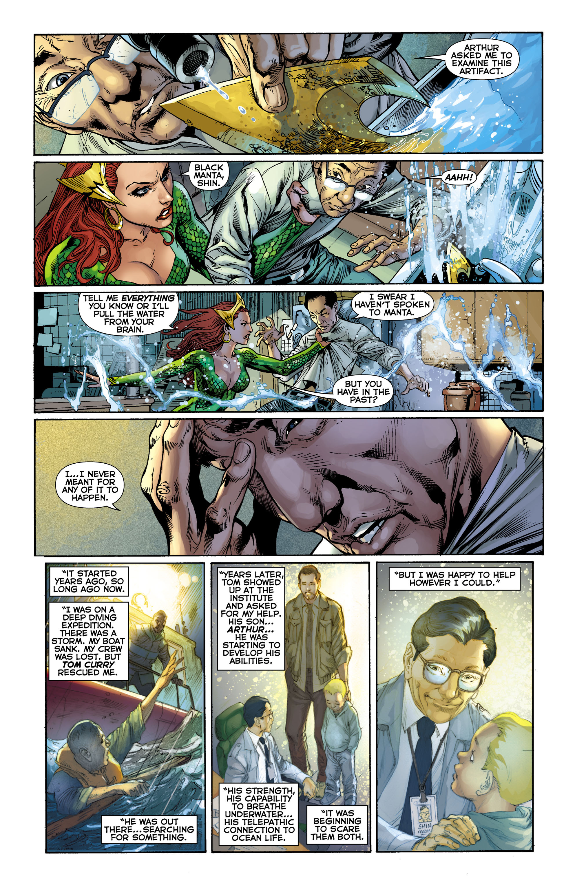 Read online Aquaman (2011) comic -  Issue #9 - 16