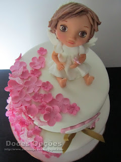 sugar paste angel
