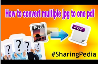 Cara Konvert Gambar ke PDF