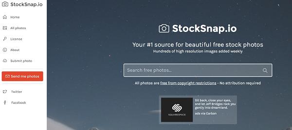 Situs Penyedia Gambar Gratis Stock Snap