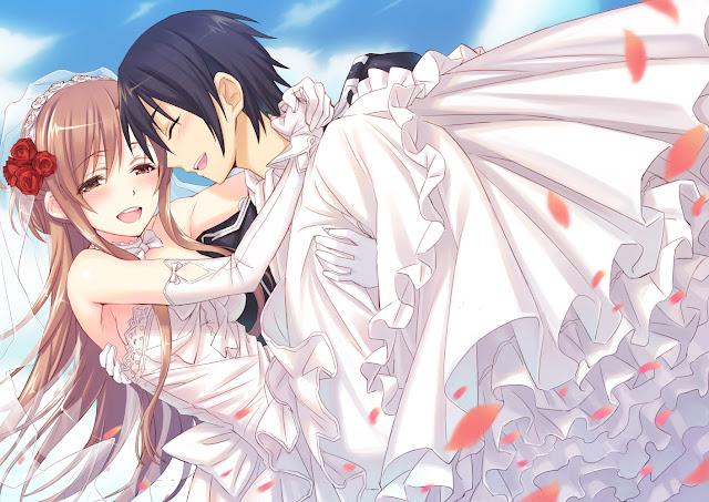 Asuna dan Kirito