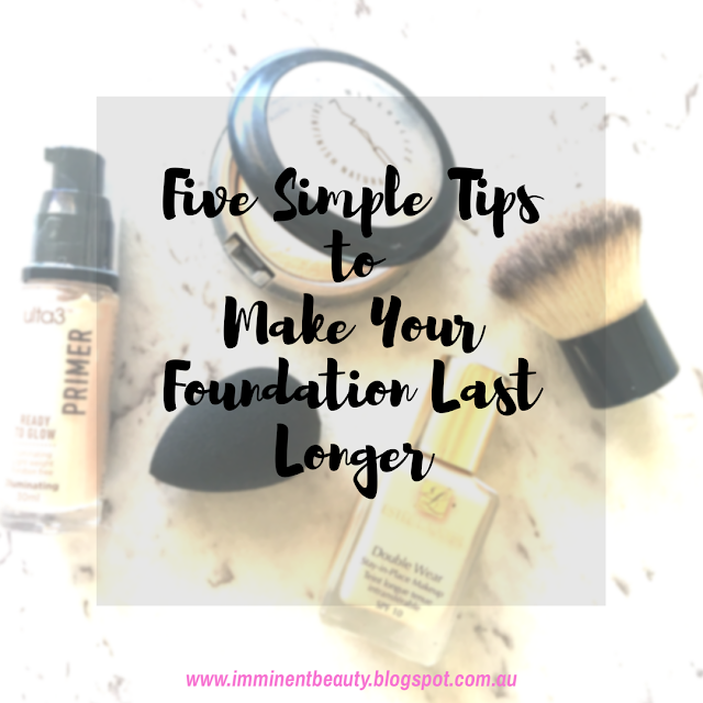 tips to help make your foundation last longer