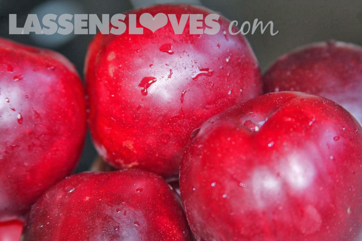 lassensloves.com, Lassen's, Lassens, spiced+baked+plums