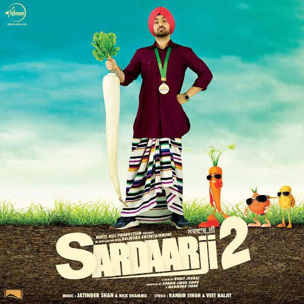 Jatinder Shah - Sardaarji 2 (Original Motion Picture Soundtrack) - EP Cover