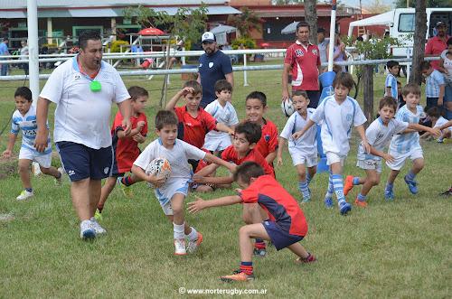 Exitosa jornada de Rugby Infantil en Suri RC