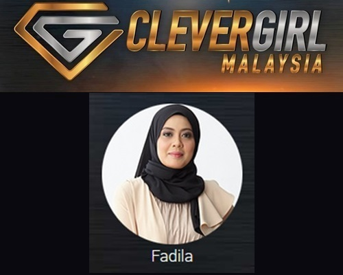 Biodata Fadila Clever Girl Malaysia 2017, profile Fadila, biografi, profil dan latar belakang Fadila Clever Girl Malaysia TV3 2017 musim 2, foto, gambar Fadila Clever Girl Malaysia musim kedua