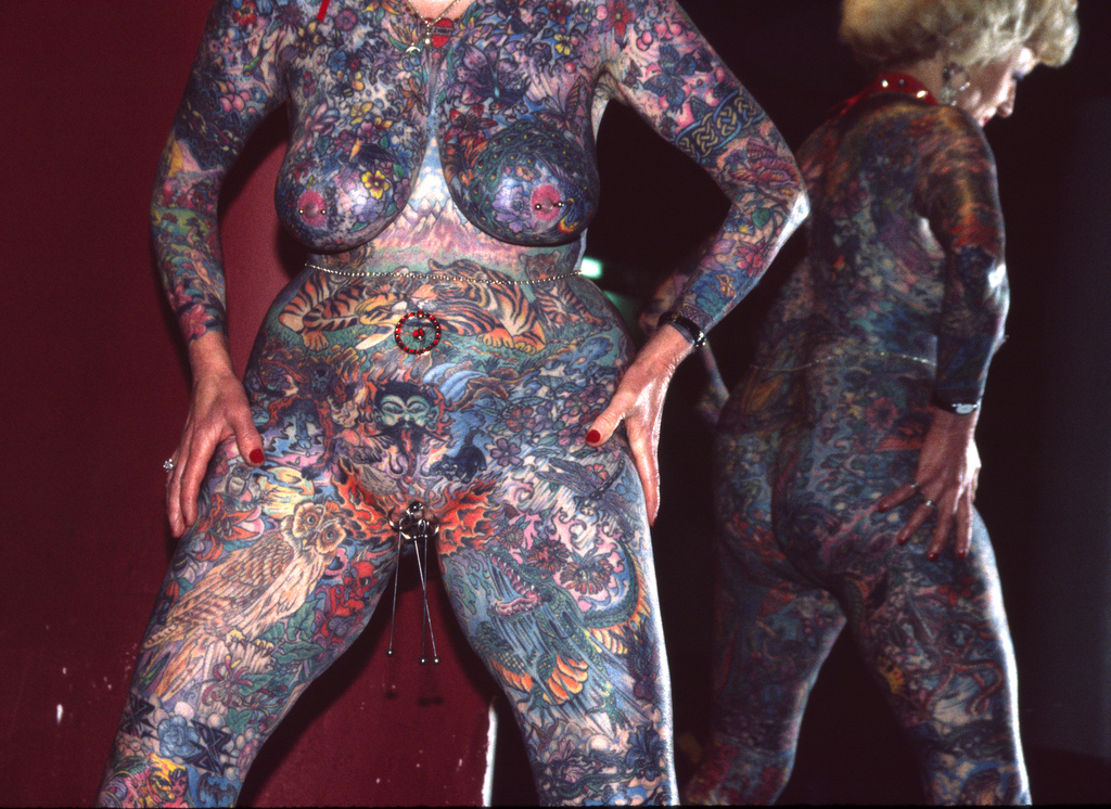 Most Tattooed Woman Nude 31