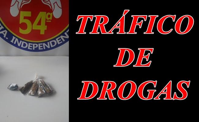 Policia Prende homem por Tráfico em Serra da Carnaíba