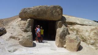 El dolmen de Menga.