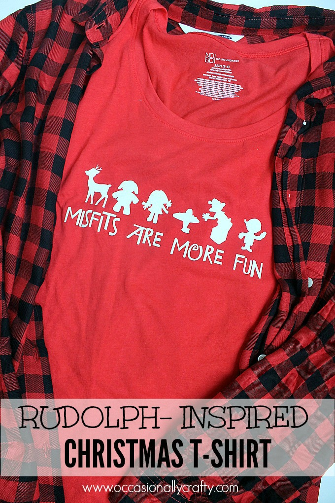 Pay homage to the classic movie Rudolph the Red-Nosed Reindeer with this Misfit Toys Tshirt!
