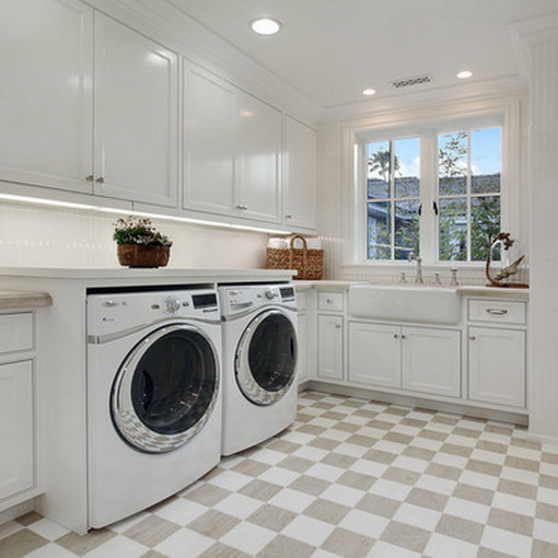 Laundry Room Color Palette: Smartgirlstyle: Laundry Room Inspiration