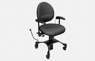 Office lift chair with brake