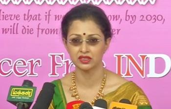 Breast cancer awareness: Chennai Airport Turns Pink |Just Chillax 05-11-2016 Puthuyugam Tv