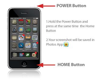 Cara Mudah Screenshot, Mengambil Gambar Di iphone 4 dan Iphone 5