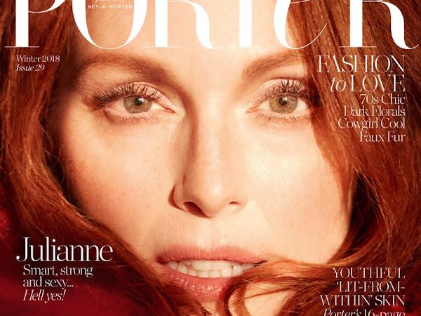 Julianne Moore Covers Porter Magazine // Winter 2018