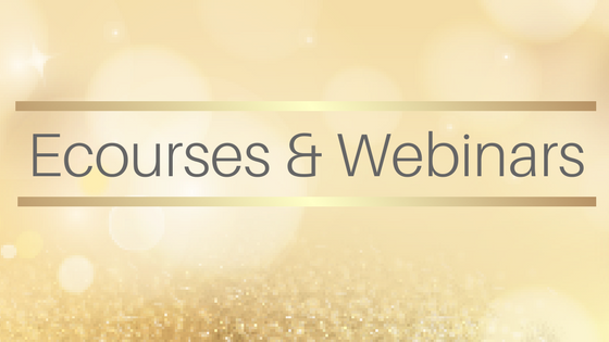 Ecourses and webinars