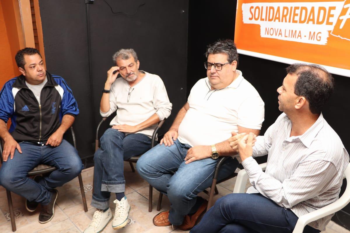 abc6bbaec58cc Solidariedade inicia construção pensando nas próximas cenas políticas -  Sempre Nova Lima - Nossa cidade também na rede