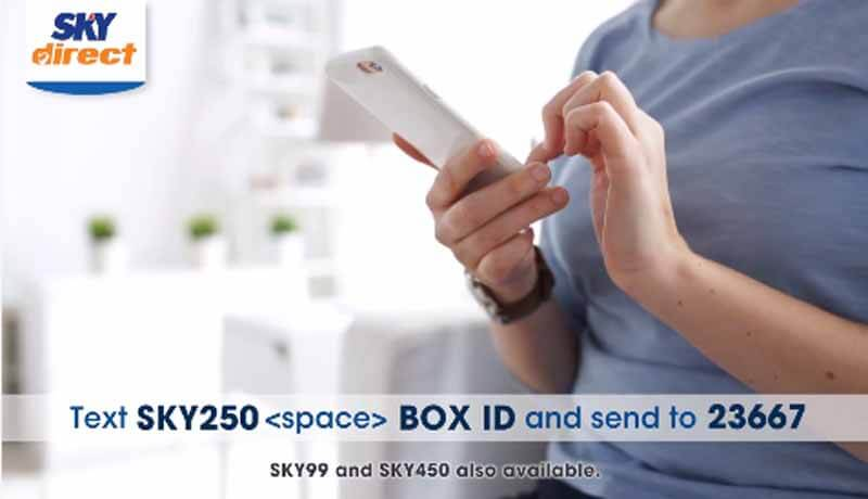 How to Load Sky Direct Using Globe, TM and ABS CN Mobile Prepaid Sim