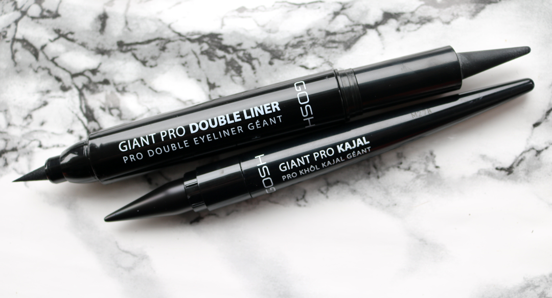 GOSH Giant Pro Double Liner  & GOSH Giant Pro Kajal review