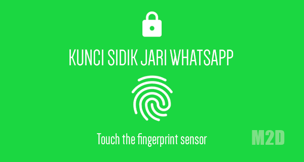 Fingerprint lock WhatsApp Android