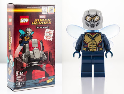 San Diego Comic-Con 2018 Exclusive Marvel Ant-Man and The Wasp Movie LEGO Set