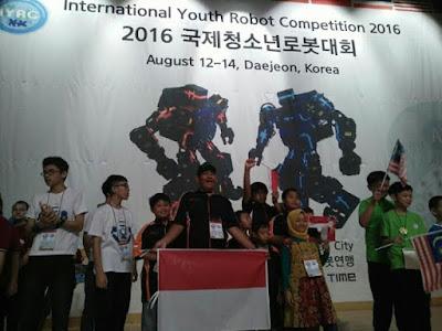 Anak Madrasah Kalahkan As Israel di Kontes Robot