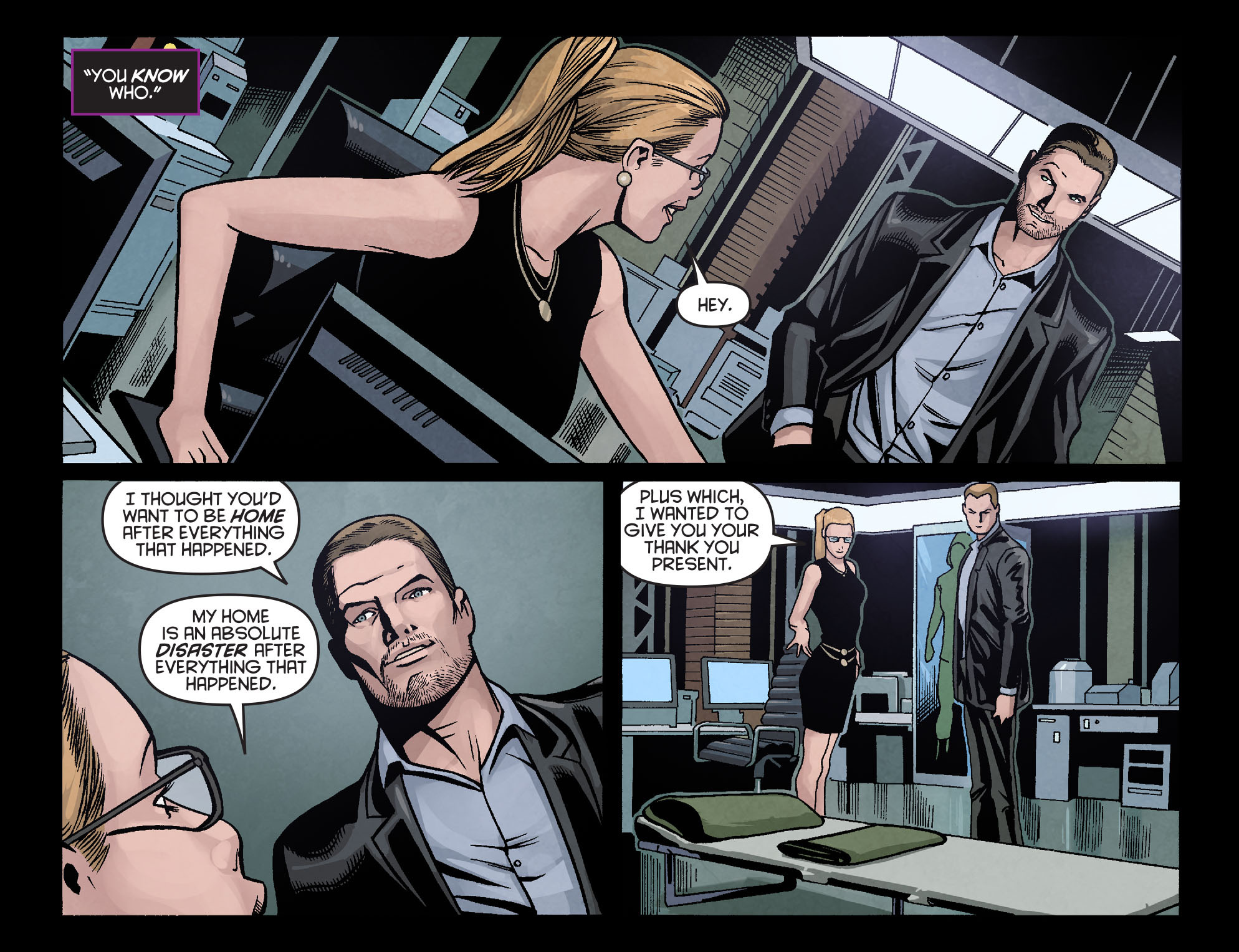 Read online Arrow: Season 2.5 [I] comic -  Issue #16 - 19