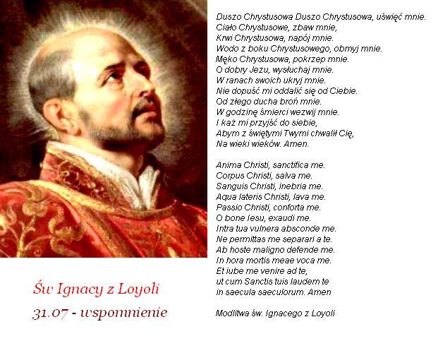 Modlitwa na każdy dzień: Modlitwy św. Ignacego z Loyoli