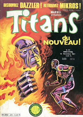 couverture Titans 35 Dazzler Episode 1