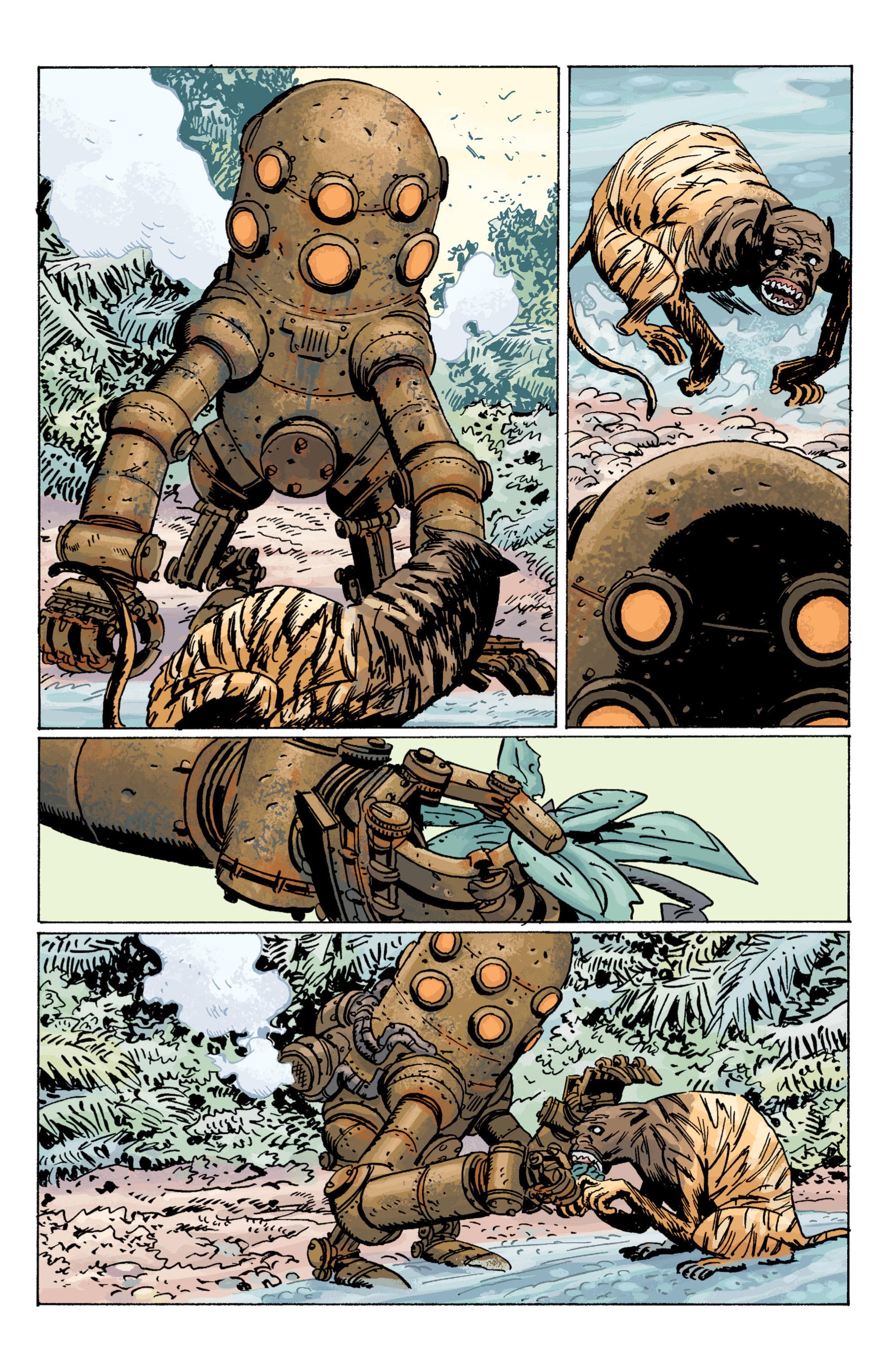 Read online B.P.R.D. (2003) comic -  Issue # TPB 7 - 26