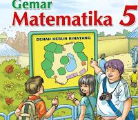 gambar Buku paket matematika SD/MI KTSP 2006 Kelas 1,2,3,4,5,6 Tahun Pelajaran 2017/2018