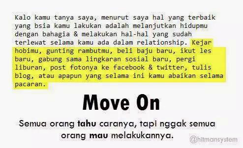 semua orang tau cara move on