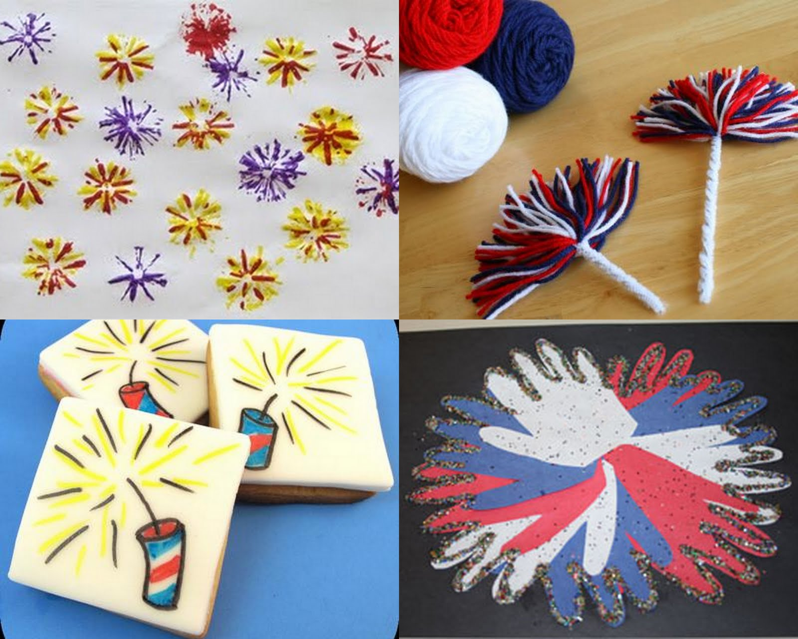 Having Fun At Home Fun And Easy 4th Of July Fireworks Crafts