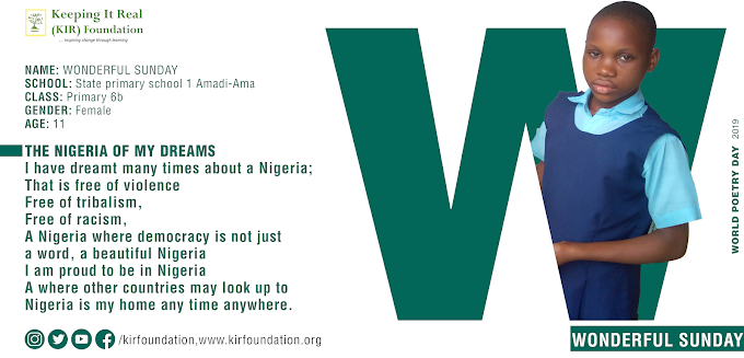 The Nigeria of my dreams: World Poetry day