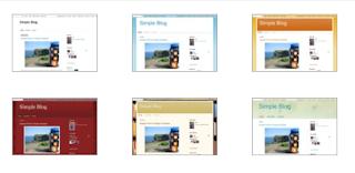 Cara mudah ganti template di blog