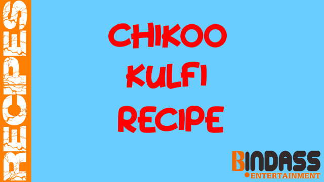 Chikoo-Kulfi-Recipe