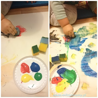farby dla dzieci