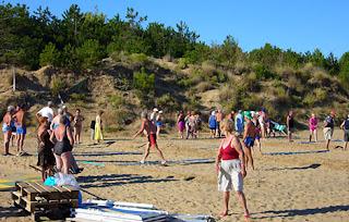 divoké pláže Lignano