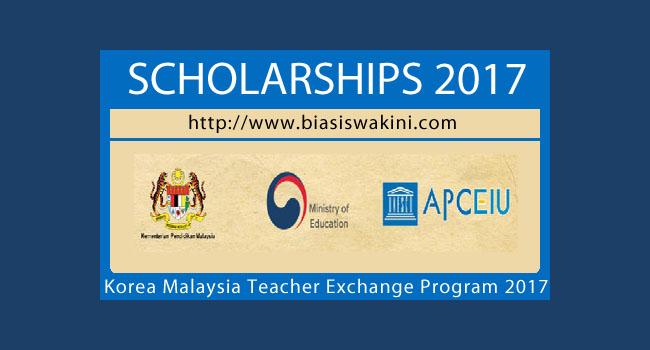 Korea-Malaysia Teacher Exchange Programme 2017-KOMTEP