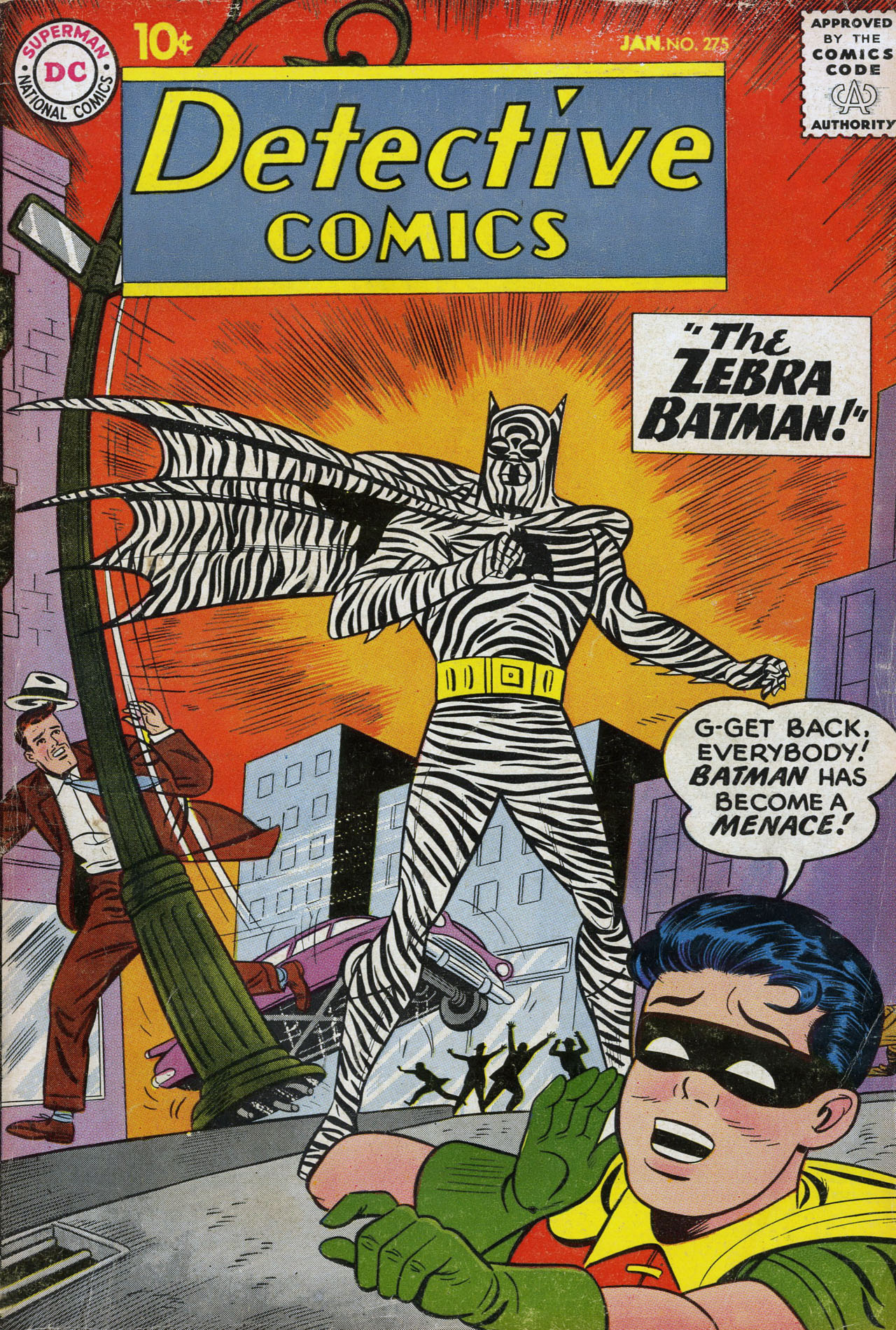 Detective Comics (1937) 275 Page 1