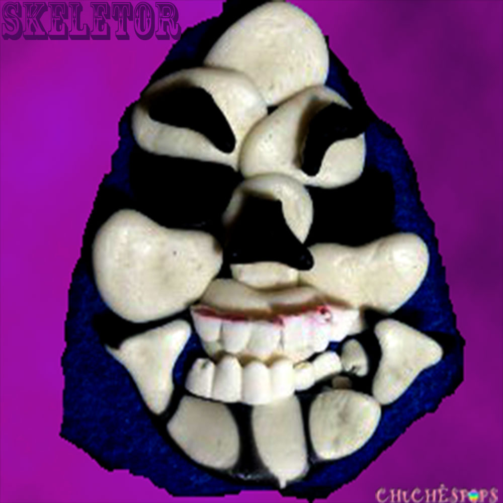 Tarta de Chuches Skeletor Halloween