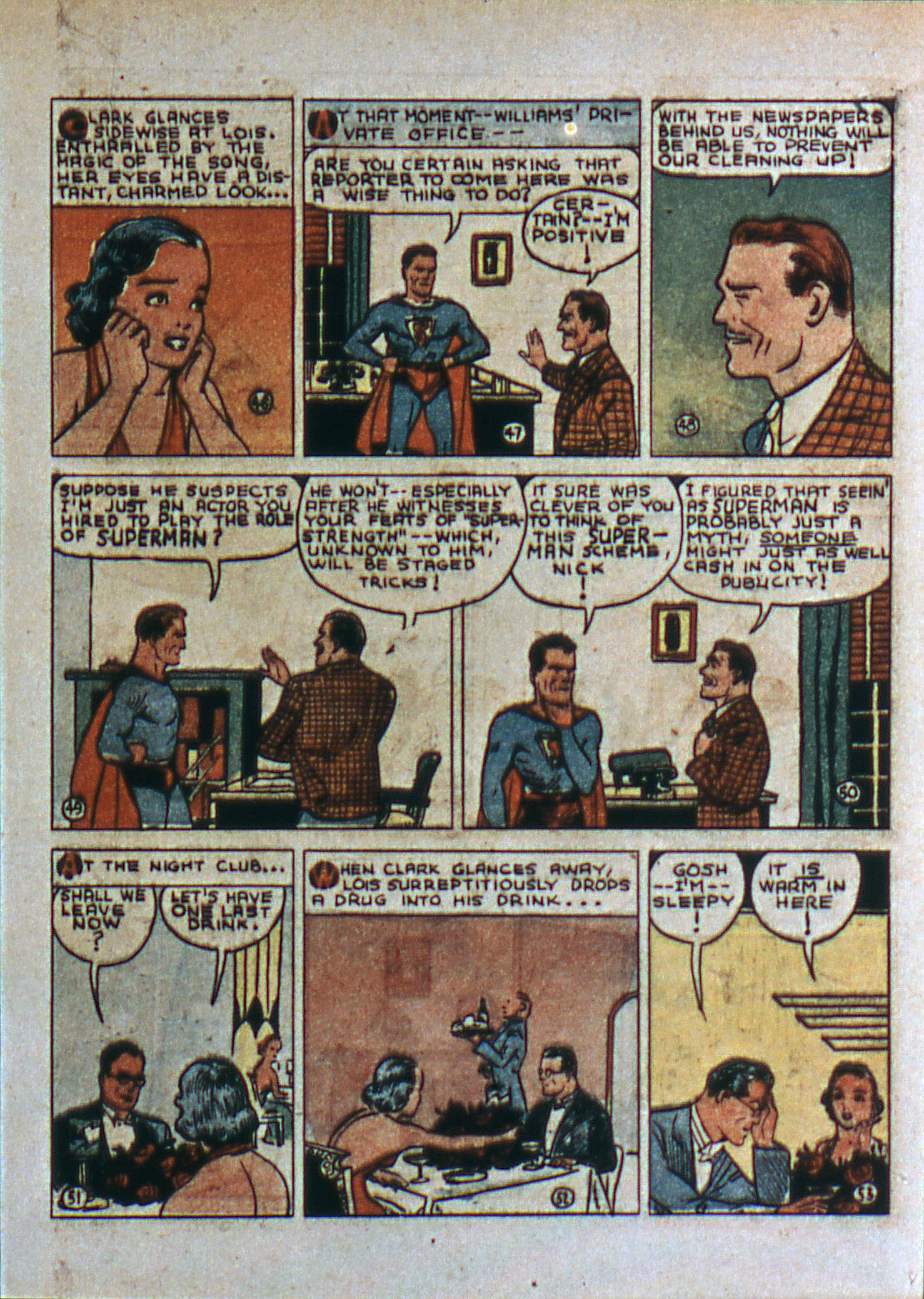 Read online Action Comics (1938) comic -  Issue #6 - 10