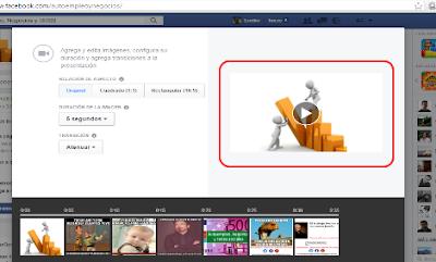 vídeo presentaciones en facebook 10