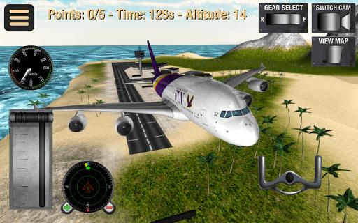 لعبة قيادة الطائرات