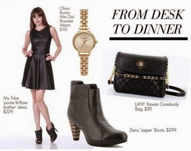 Desk to Dinner Style Shopping Tips
