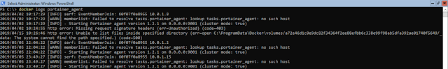 docker logs portainer_agent