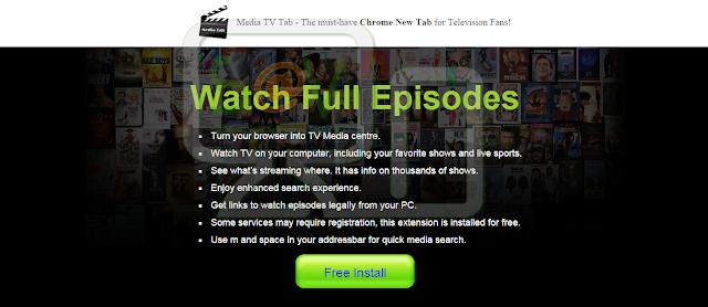 Media TV Tab